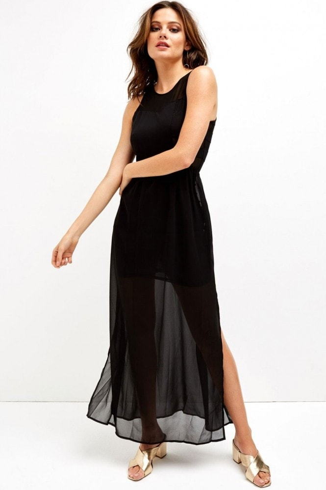 Girls on Film Black Panel Maxi