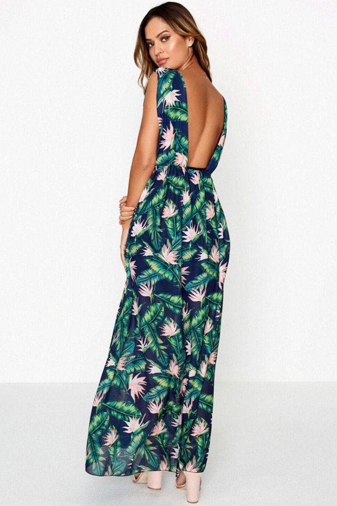 Girls on Film Floral Maxi Dress