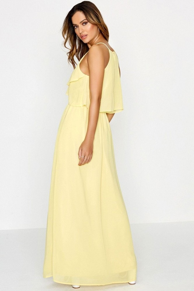 Outlet Girls On Film Yellow Maxi Dress