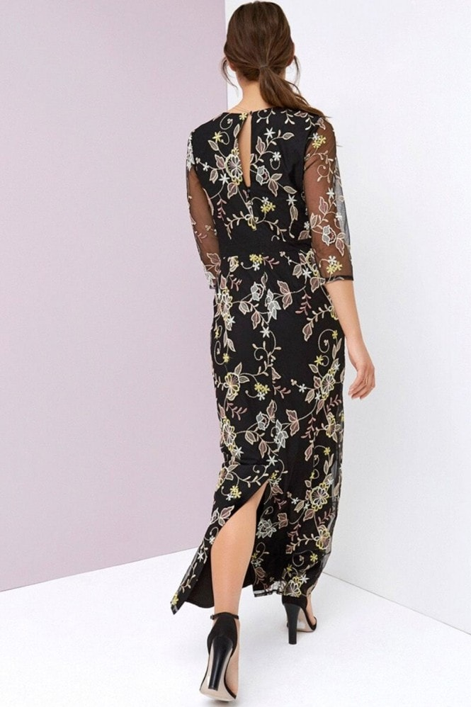Little Mistress Embroidery Maxi Dress