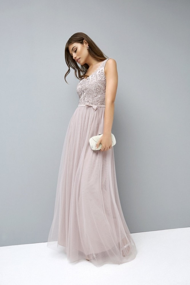 Little Mistress Mink Crochet Maxi