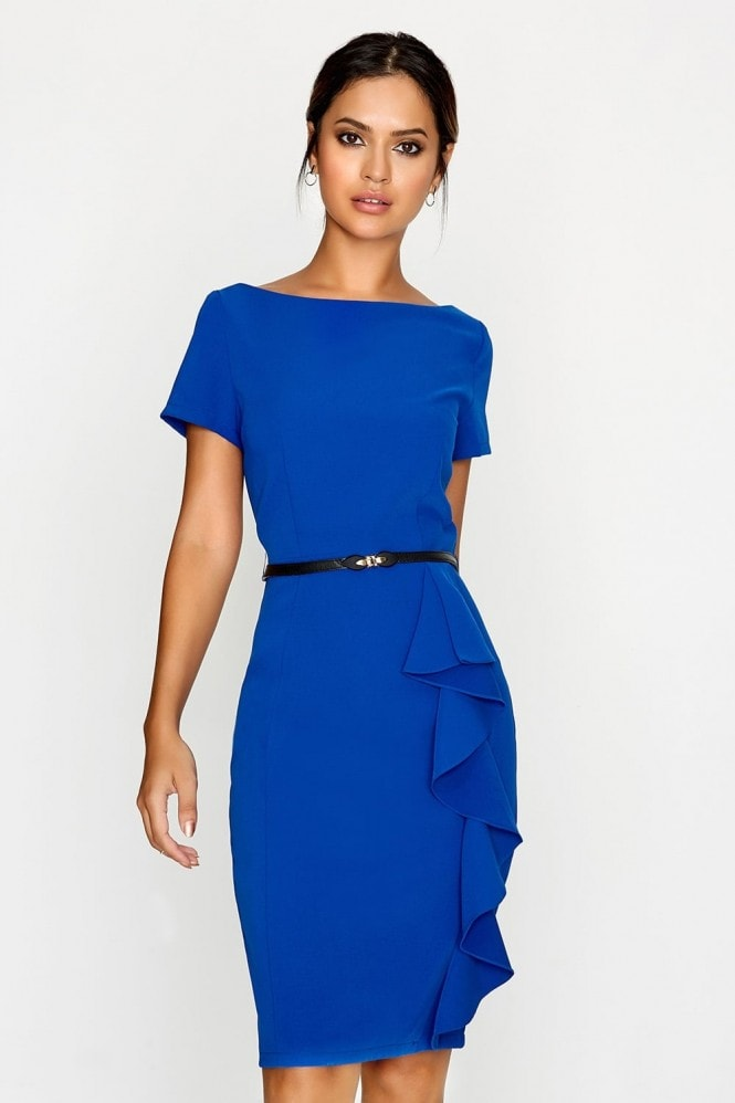 Paper Dolls Blue Bodycon Dress