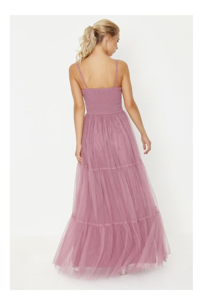 Little Mistress Rose Maxi Dress