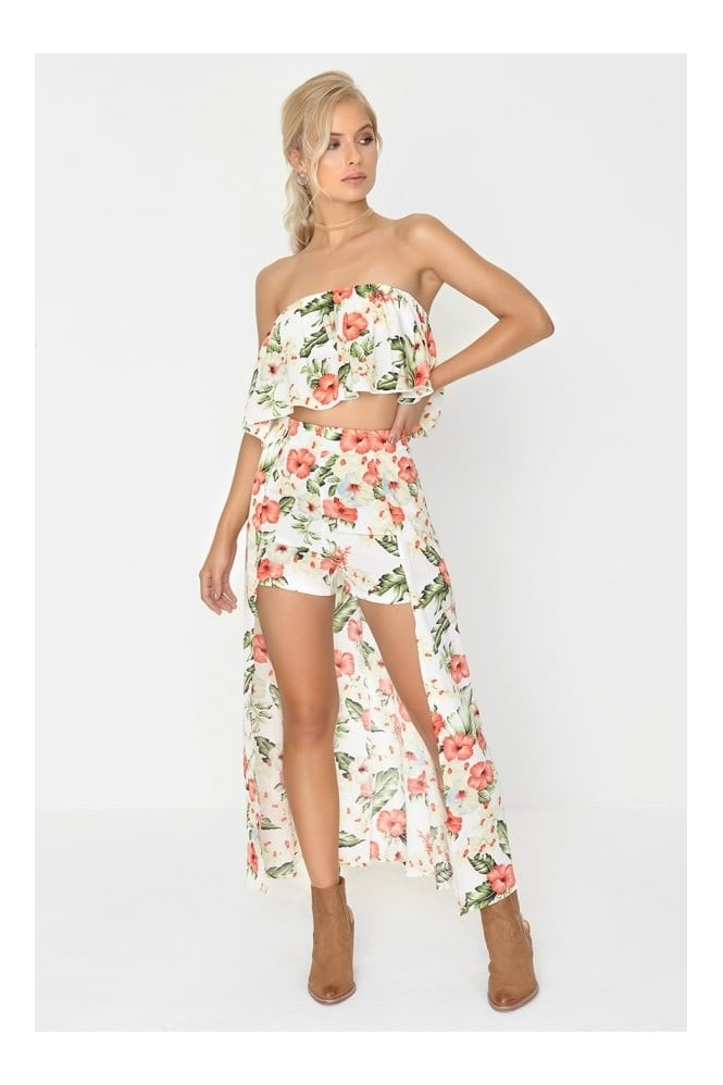 Outlet Girls On Film Floral Maxi Co Ord