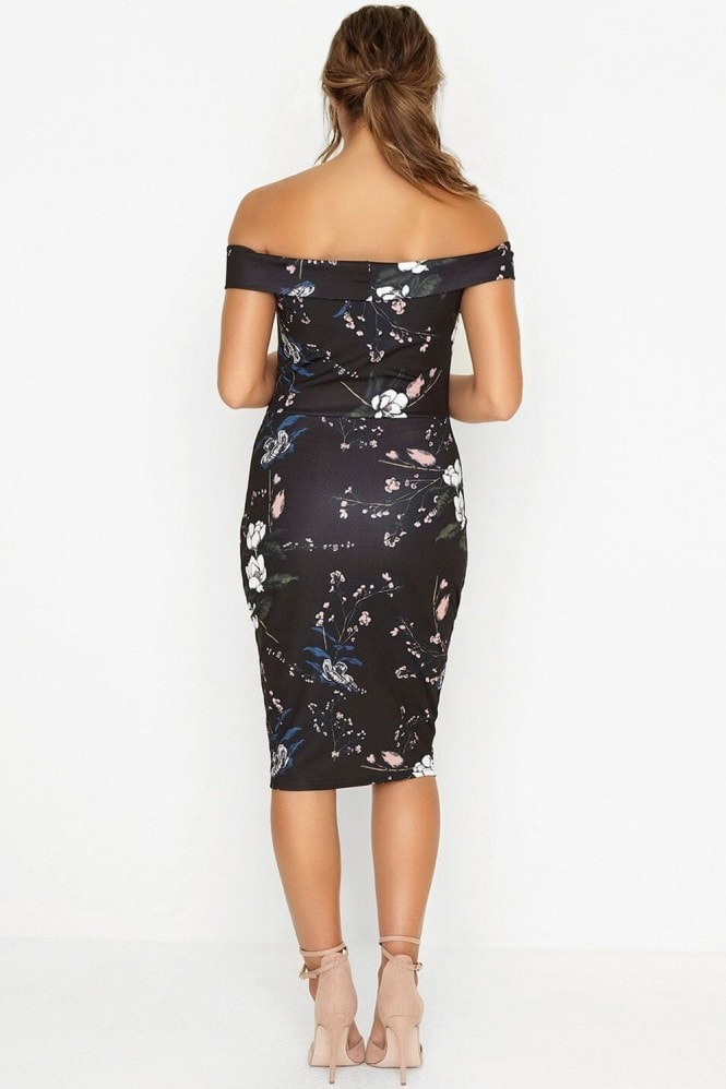 Outlet Girls On Film Oriental Bodycon Dress