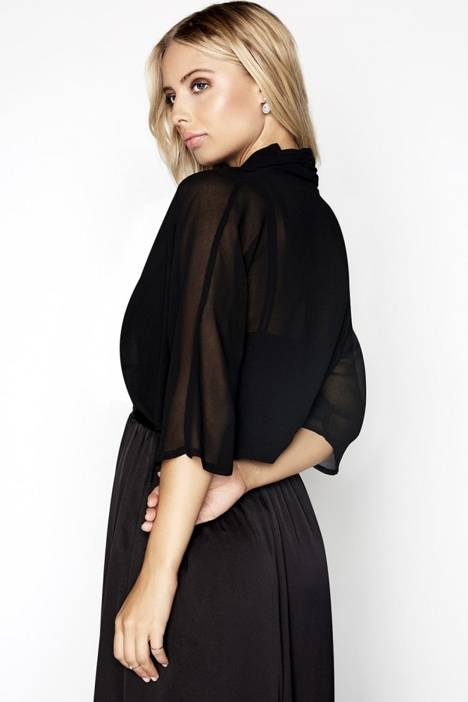 Little Mistress Black Shrug