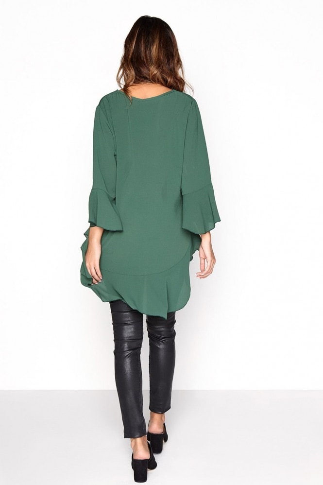 Outlet Girls On Film Emerald Frill Top