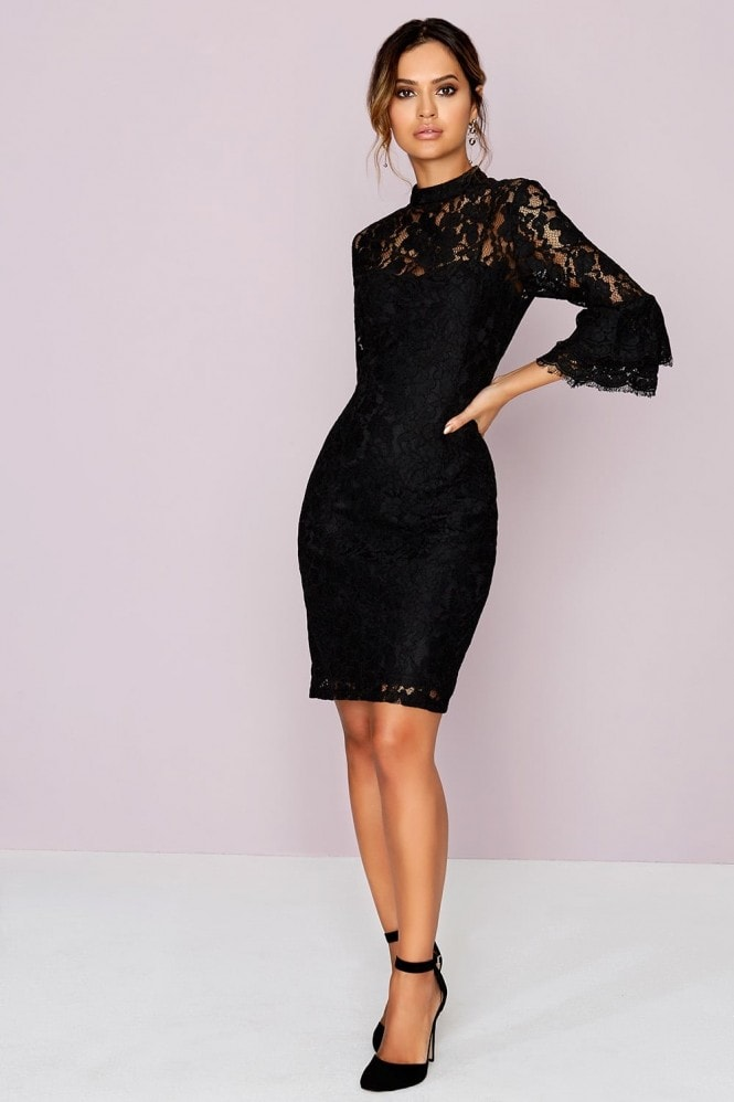 Outlet Paper Dolls Black Bodycon Dress