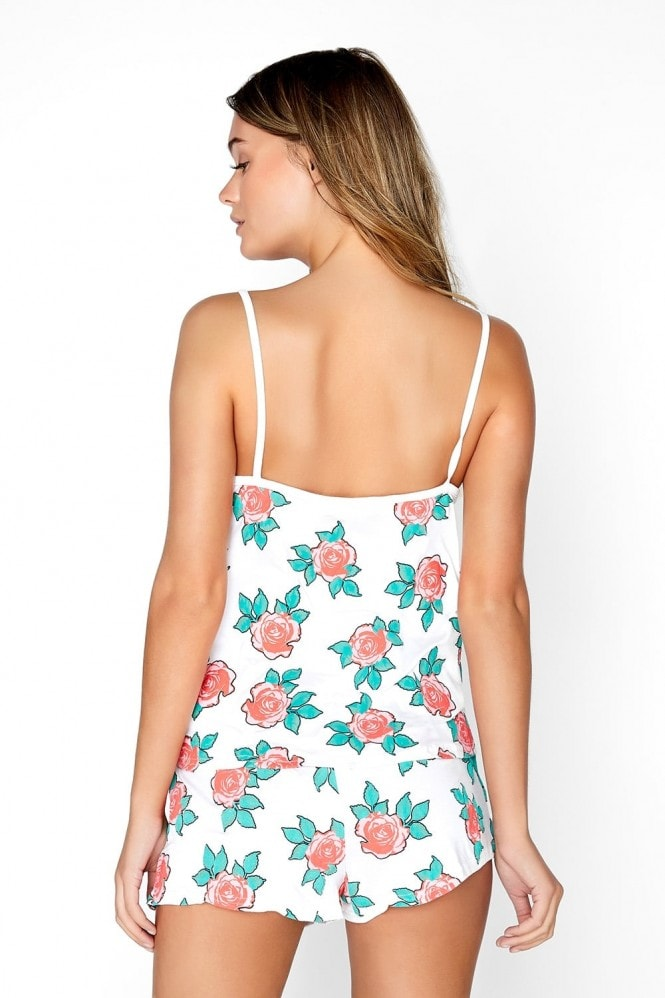 Girls on Film Floral Cami Set