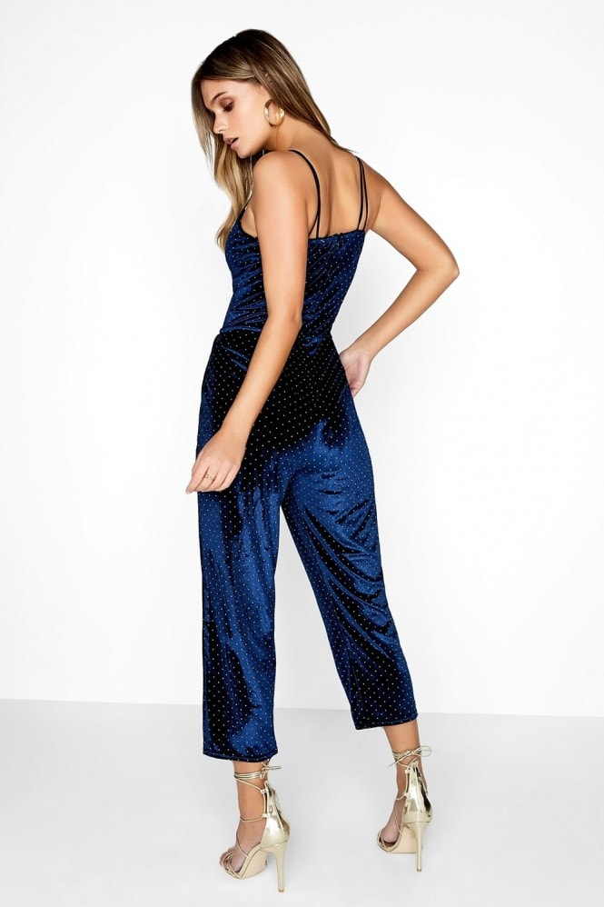 Girls on Film Velvet Jumpsuit