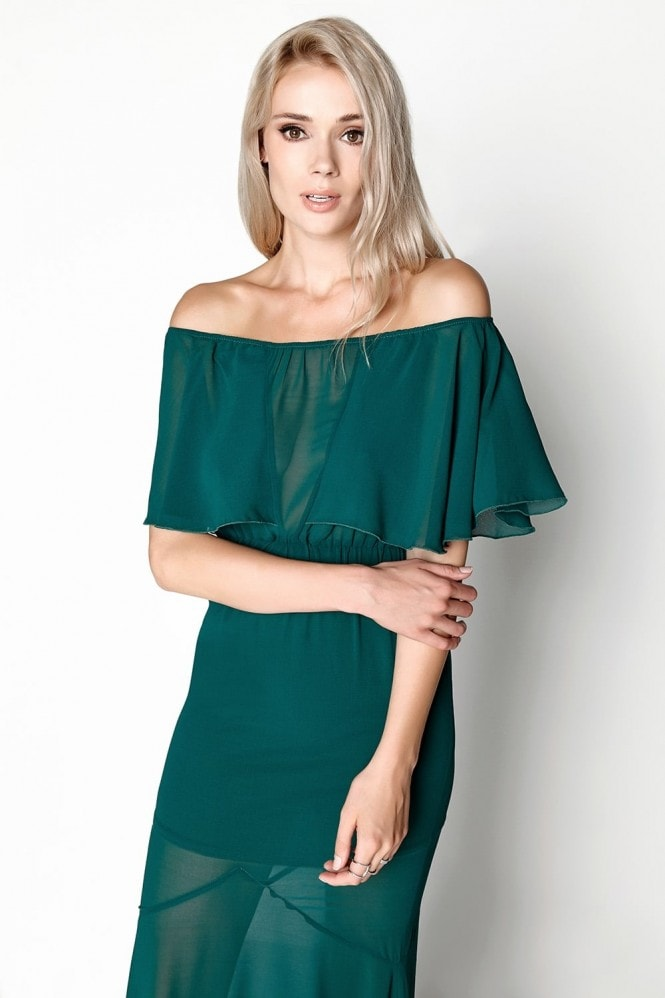Girls on Film Emerald Maxi
