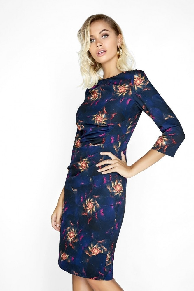 Paper Dolls Flame Print Dress