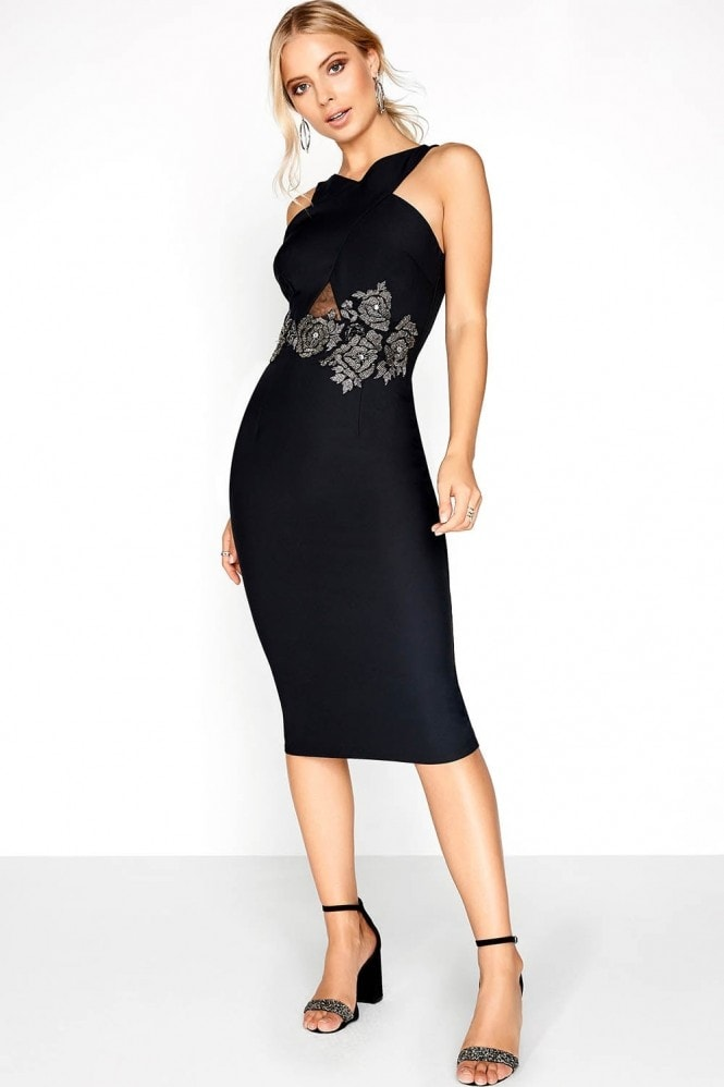 Black Rose Bodycon