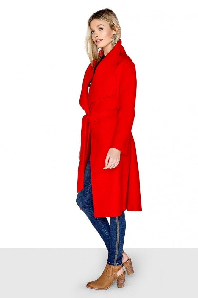 Outlet Girls On Film Red Coat
