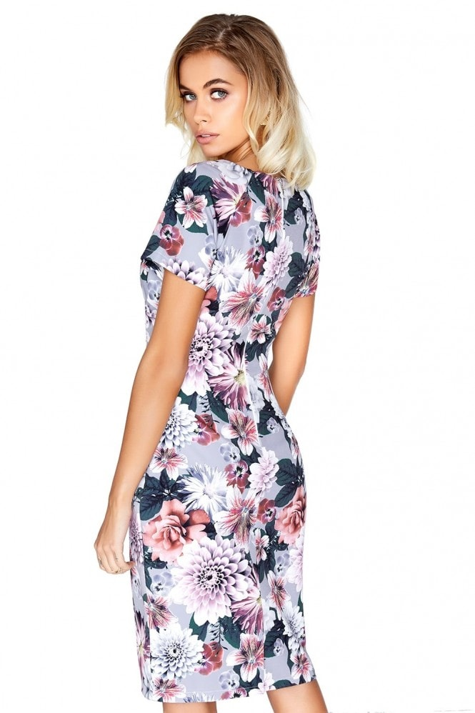 Paper Dolls Floral Gathered Dress