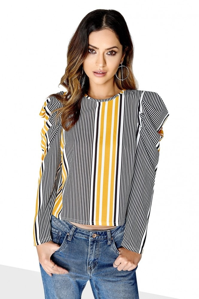 Girls on Film Puff Sleeve Top