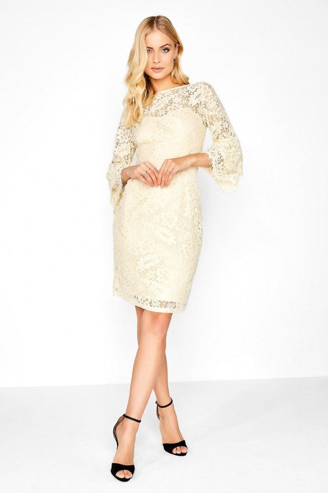 Paper Dolls Cream Lace Dress