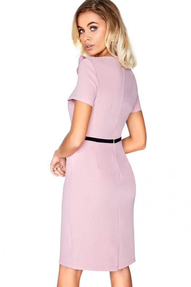 Paper Dolls Pink Ruffle Dress