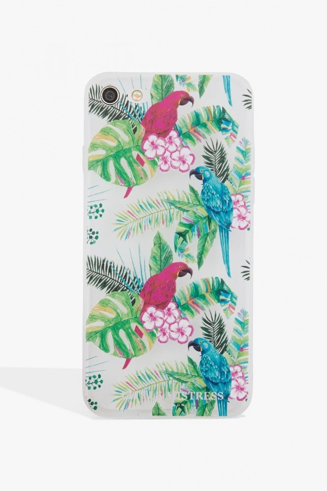 Little Mistress Accessories Parrot Print Case Iphone 7