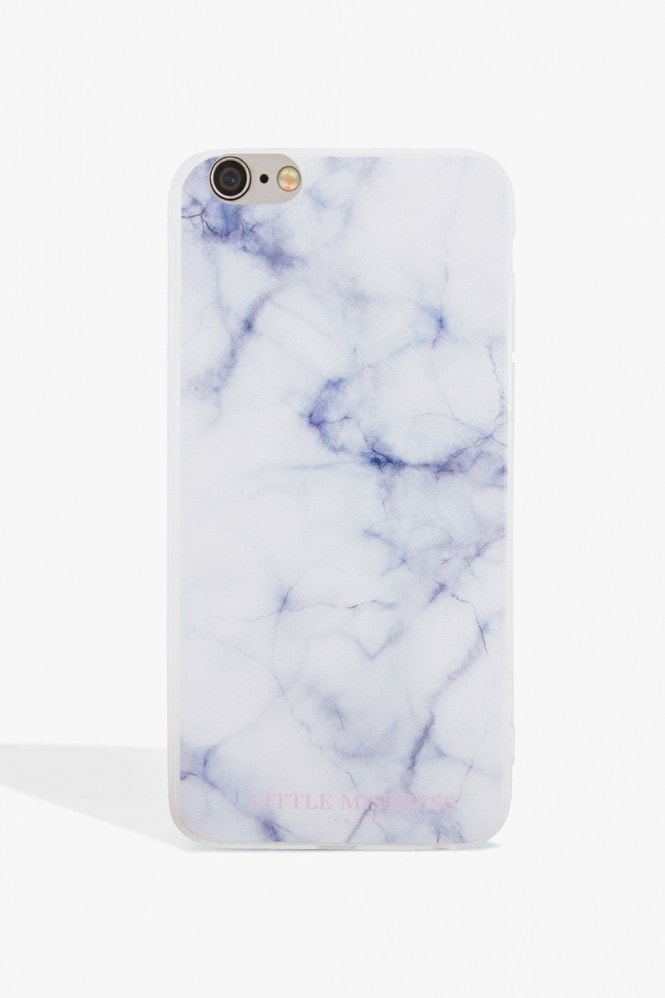 Little Mistress Blue Marble Case Iphone 7
