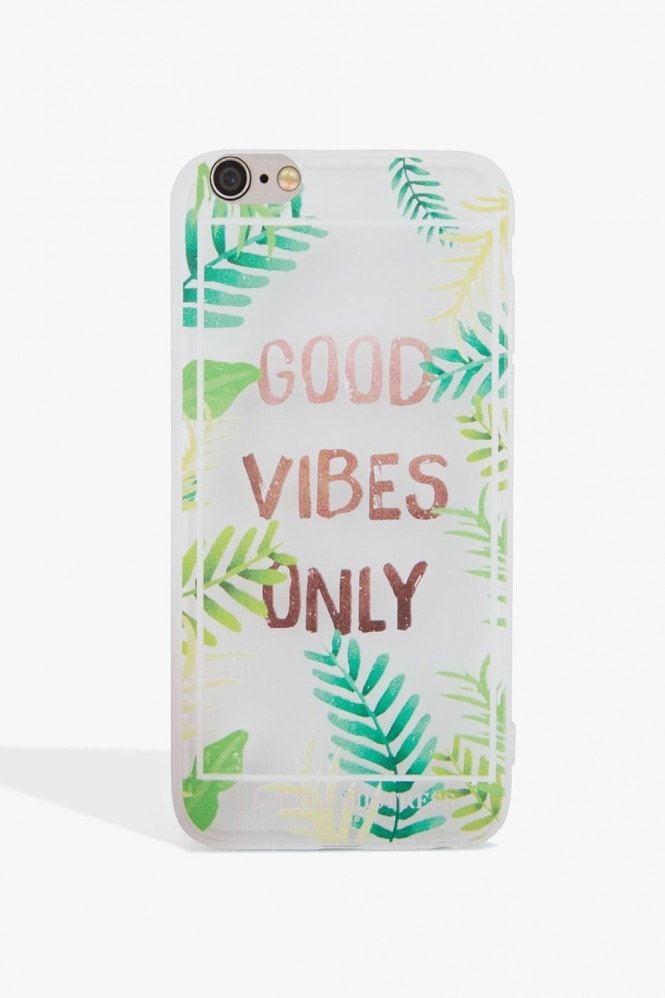 Little Mistress Accessories Good Vibes Only Case Iphone 6