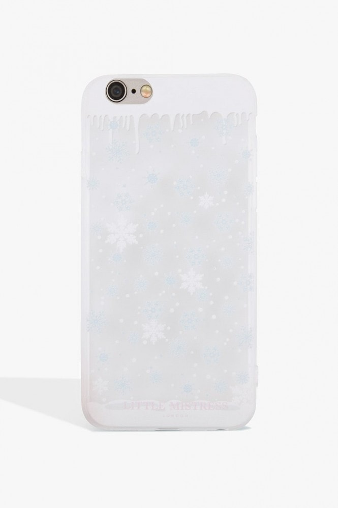 Little Mistress Accessories Snowflake Case Iphone 7
