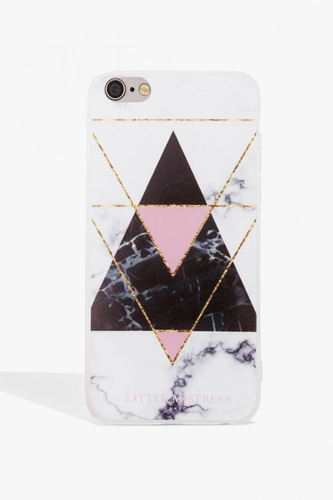 Little Mistress Accessories Black Print Case Iphone 6