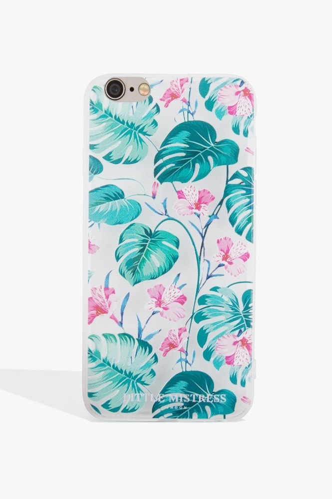 Little Mistress Accessories Leaf Print Case Iphone 7