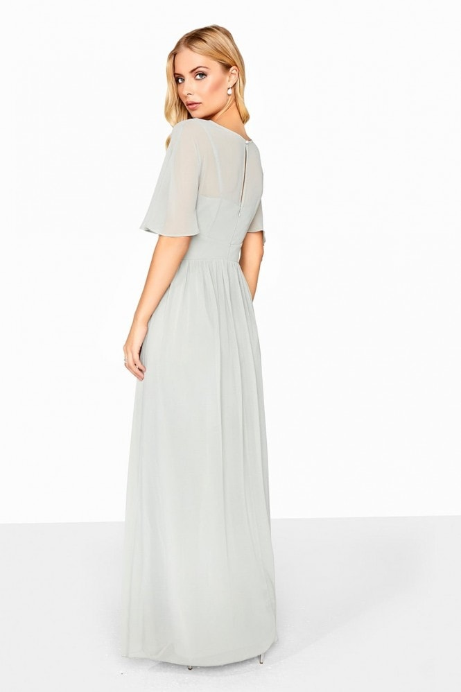 Little Mistress Waterlilly Maxi Dress