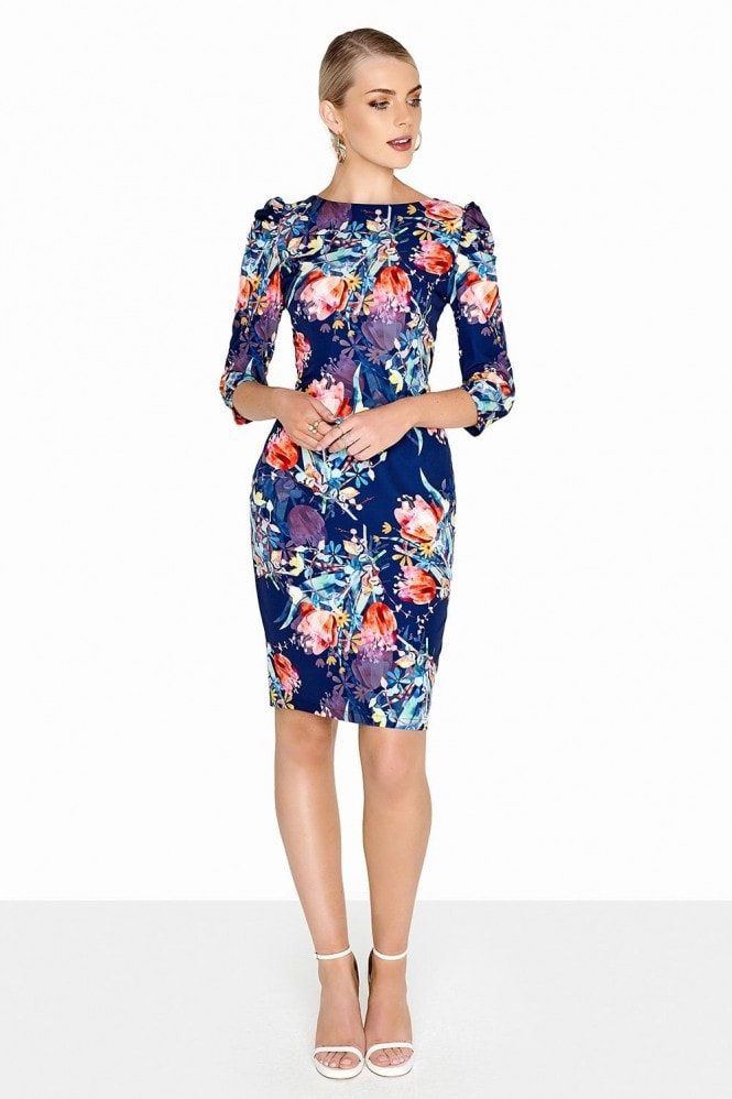 Paper Dolls Tulip Print Dress