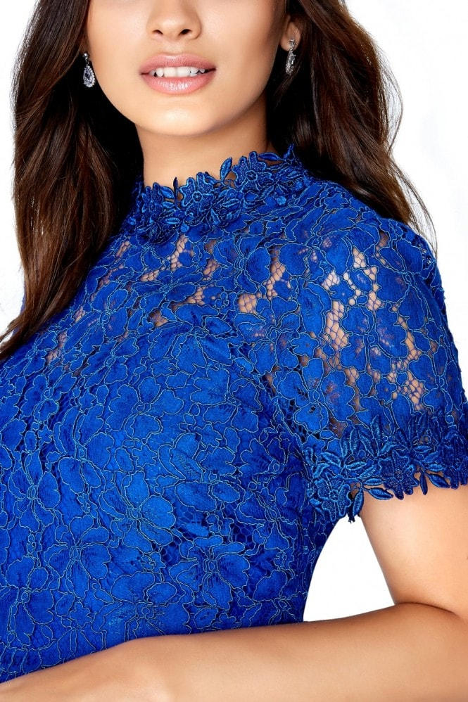 Bridget Lace Top Prom Dress