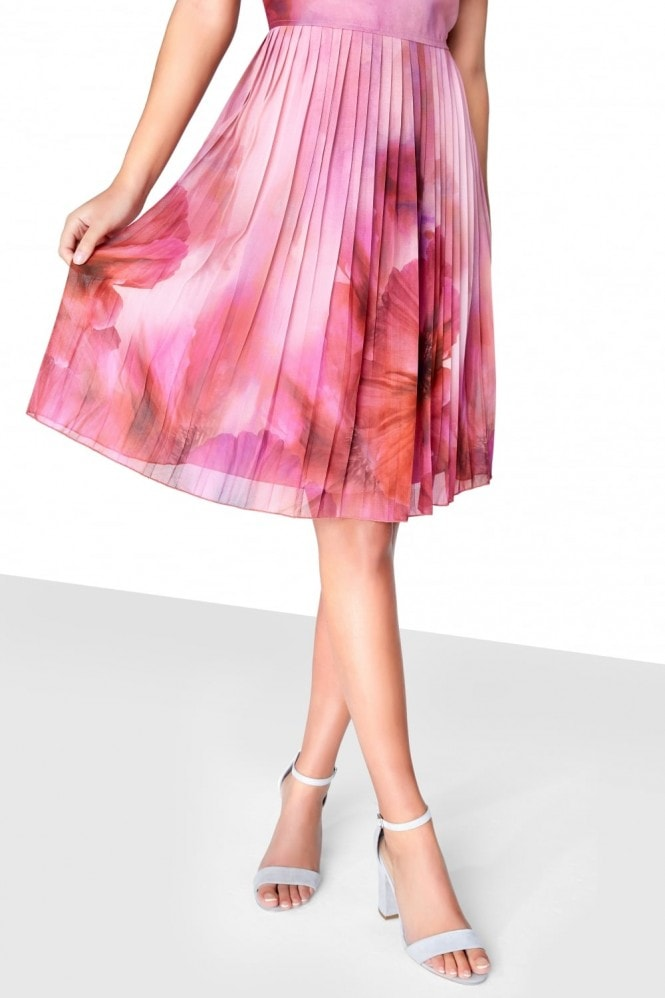 Little Mistress Print Midi Prom
