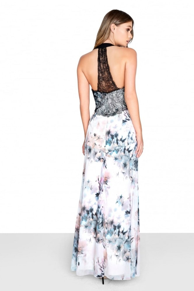 Little Mistress Blur Chiffon Maxi