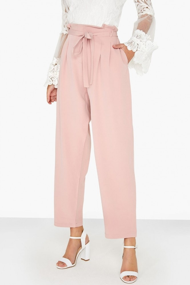 Girls on Film Pink Tapered Trouser