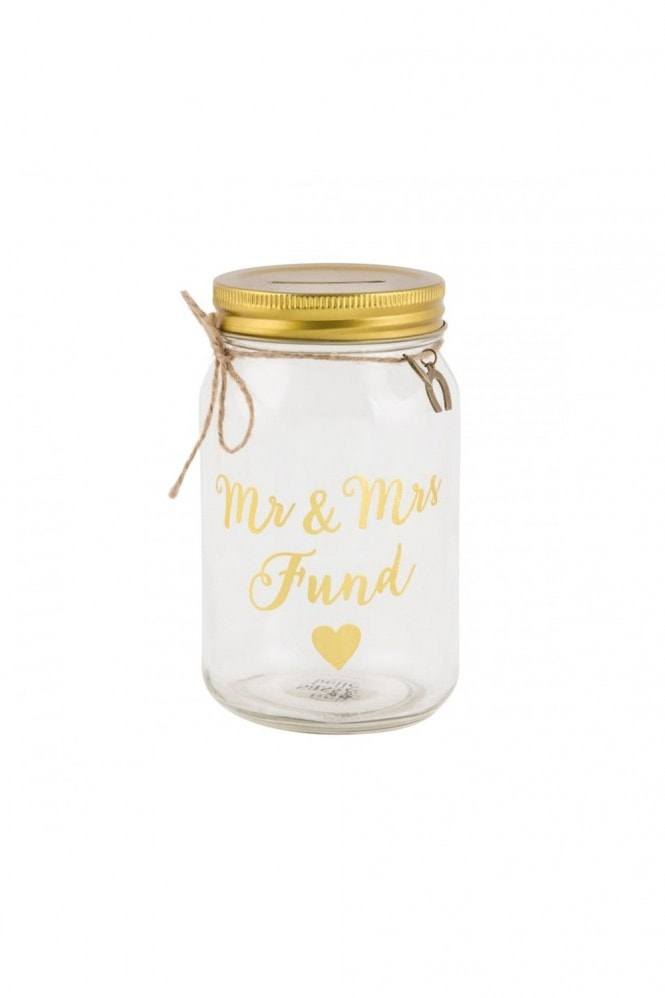 Sass & Belle Mr & Mrs Money Jar