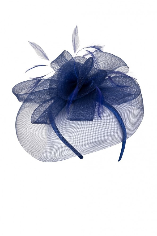 Little Mistress Navy Fascinator
