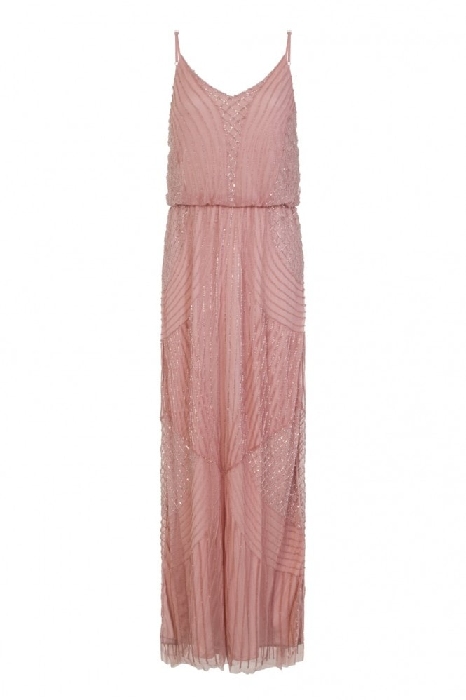 Little Mistress Pink Cami Maxi