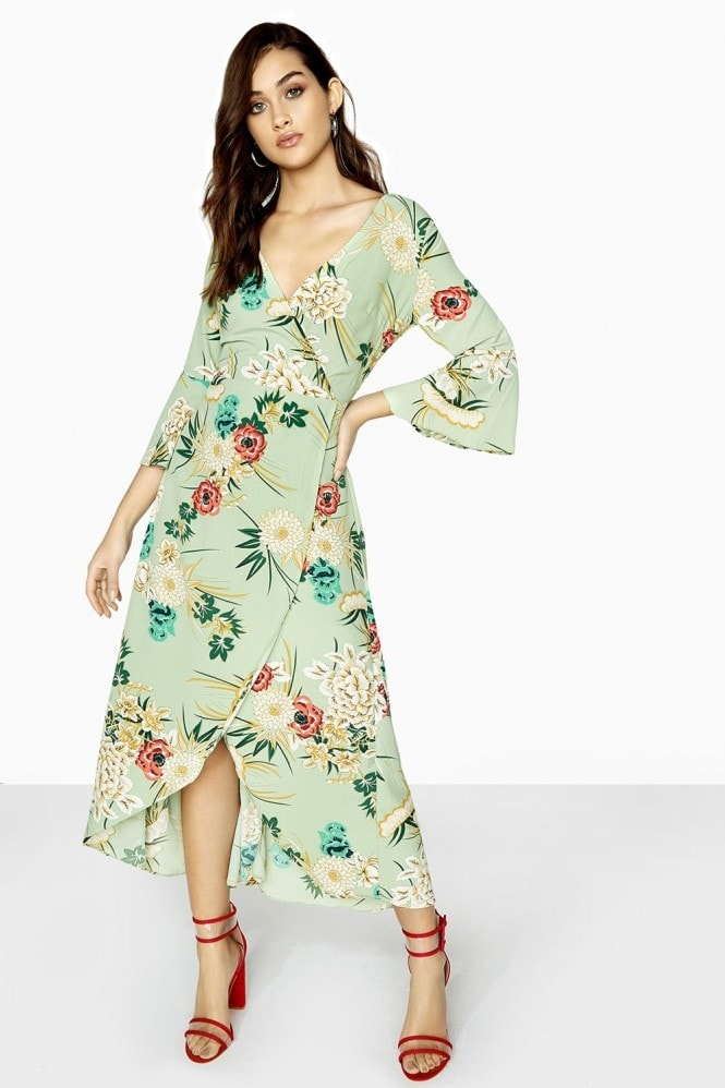 Atlantic Wrap Dress
