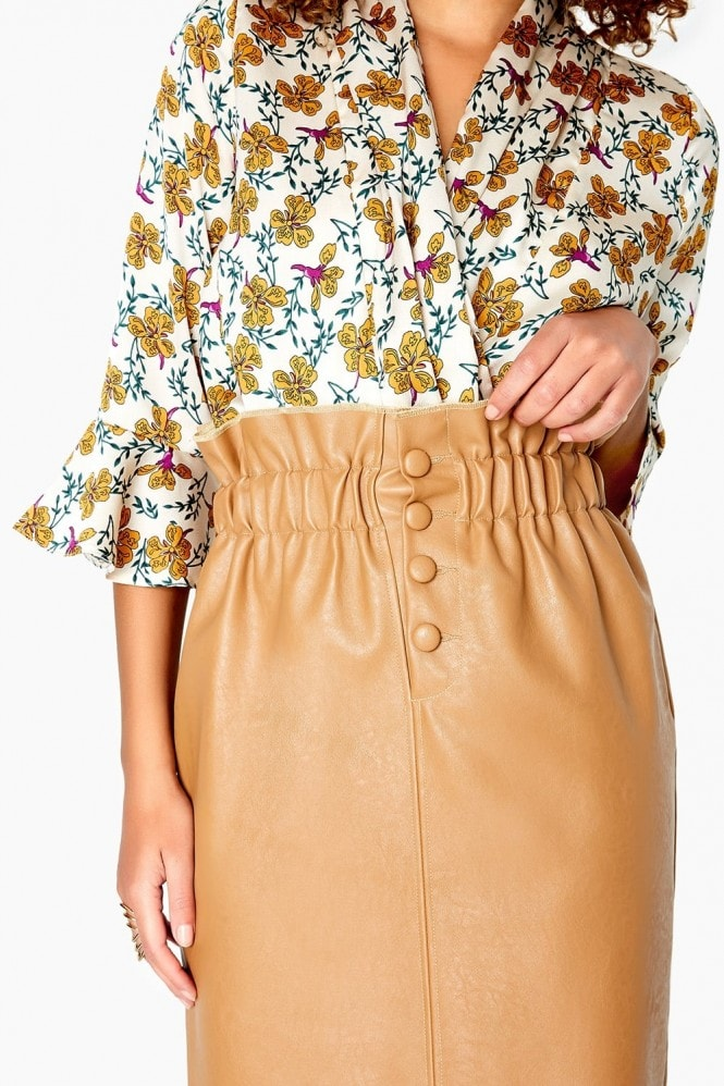 Girls on Film Frill Waist Skirt