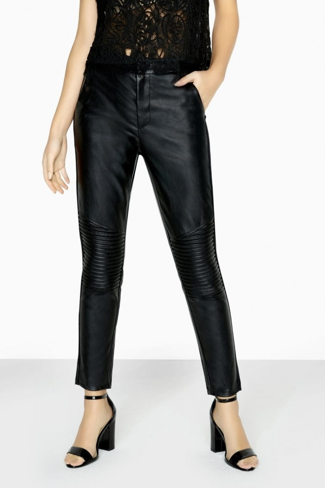 Outrageous Fortune Leather Look Trouser
