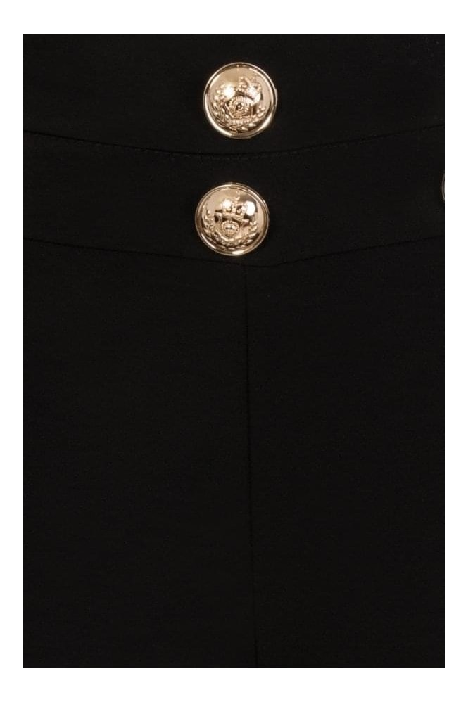 Zephyr Flared Trouser With Buttons