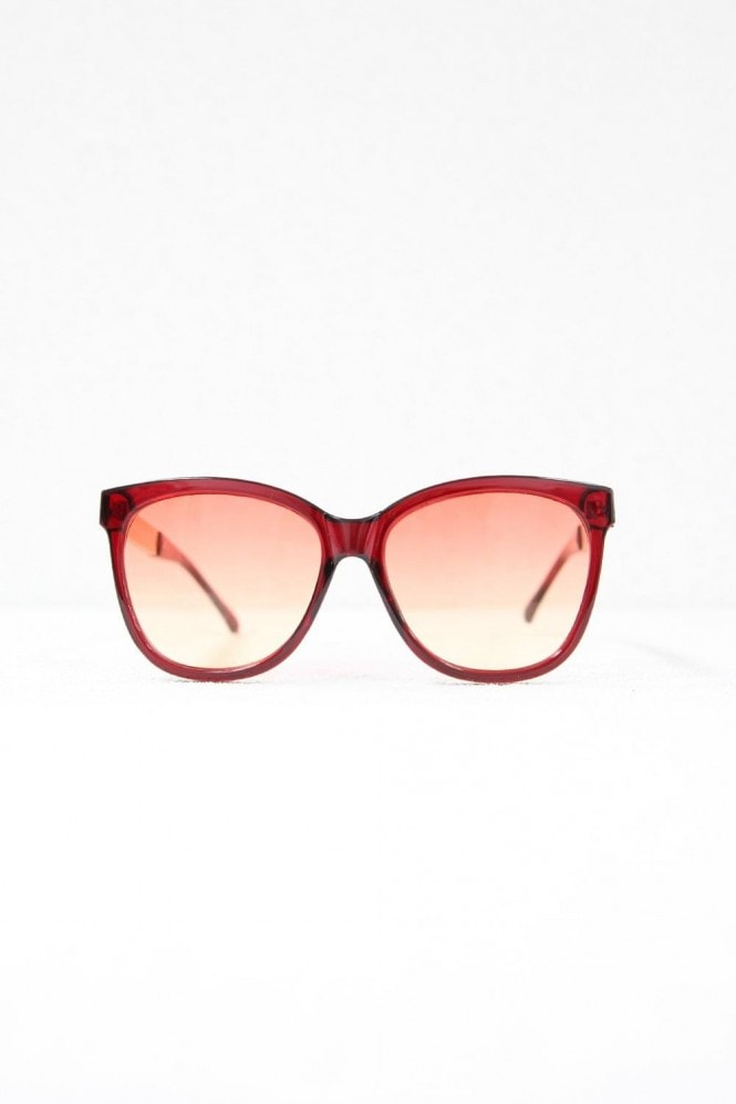 Cara Red Square Sunglasses
