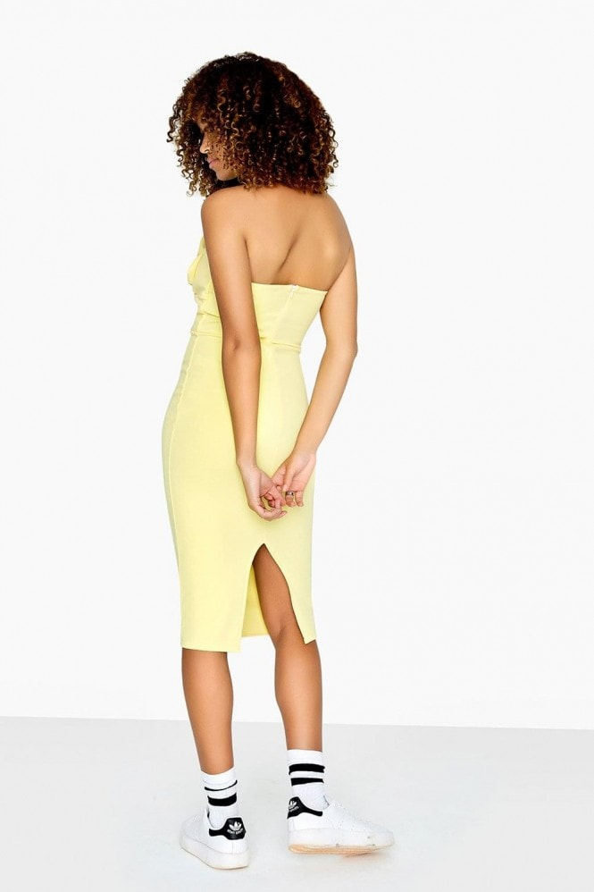 Girls on Film Rachel Bow Bandeau Dress