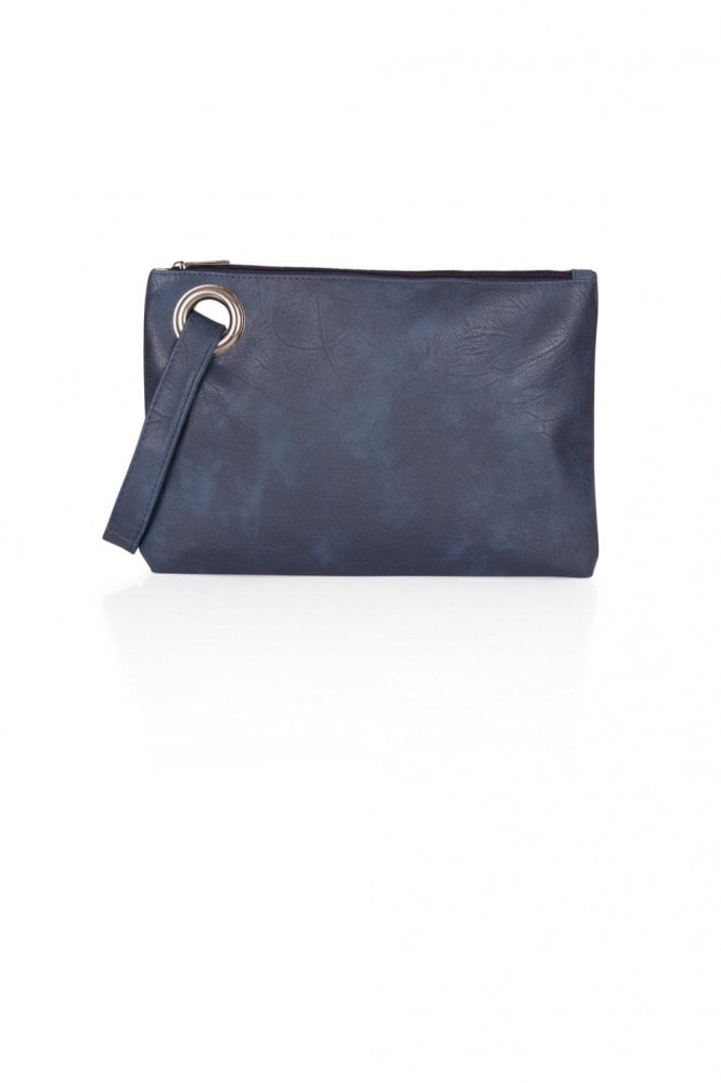 Navy Clutch Back