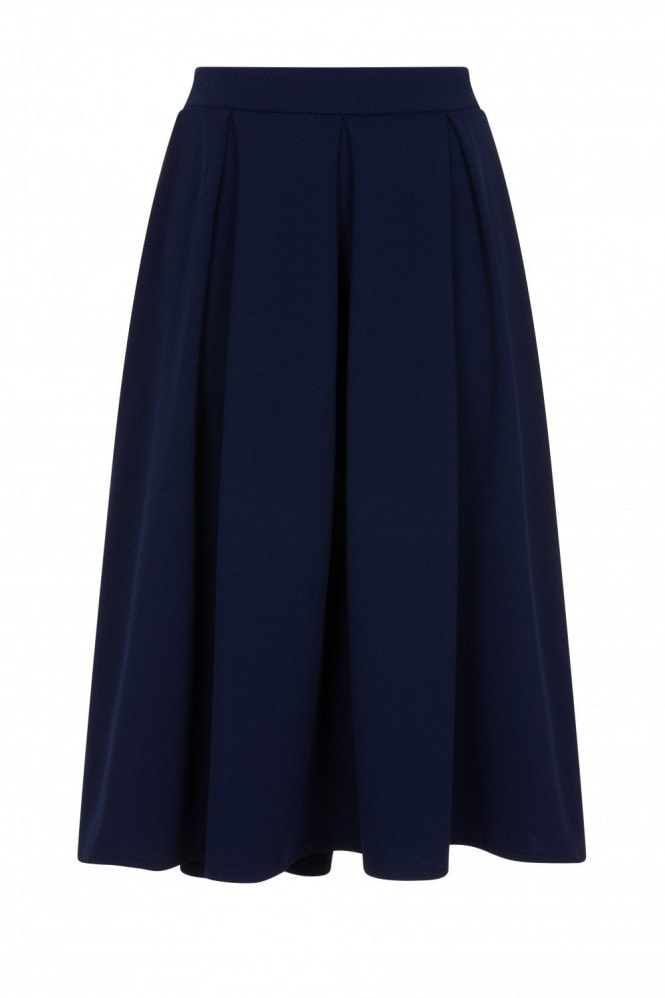 Girls on Film Kennedy Bow Back Pleated Skirt