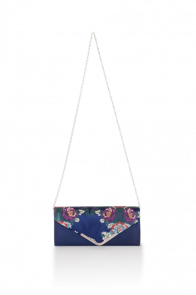 Oriental Embroidered Clutch