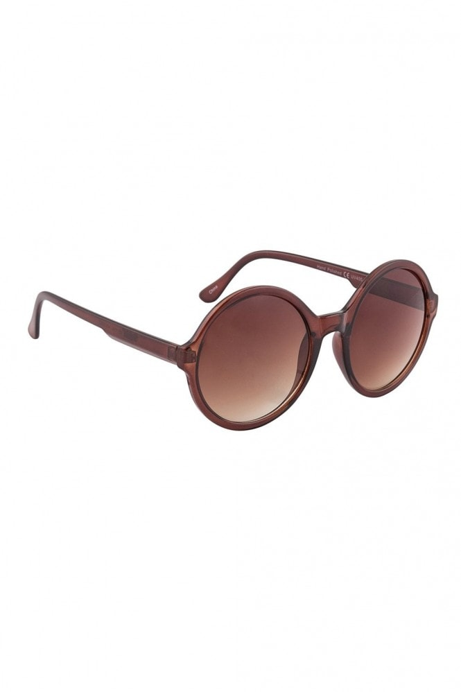 Winnie Round Sunglasses In Brown