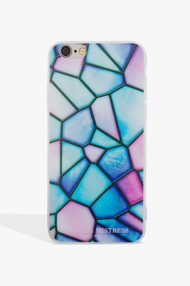 Little Mistress Accessories Marble Geo Case Iphone 6