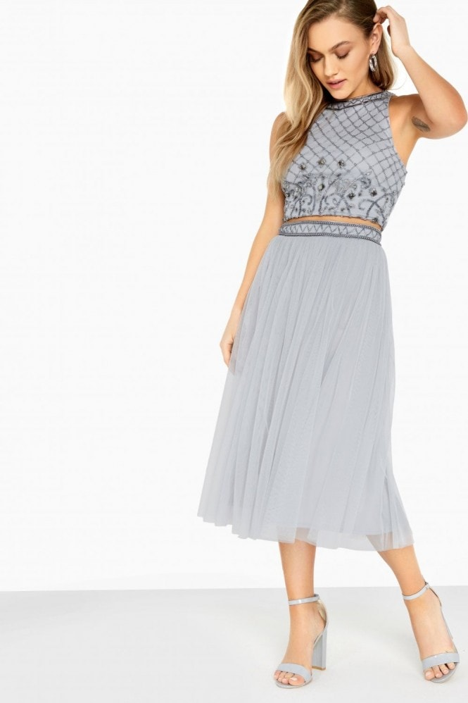 Little Mistress Hannah Hand-Embellished Top Co-Ord