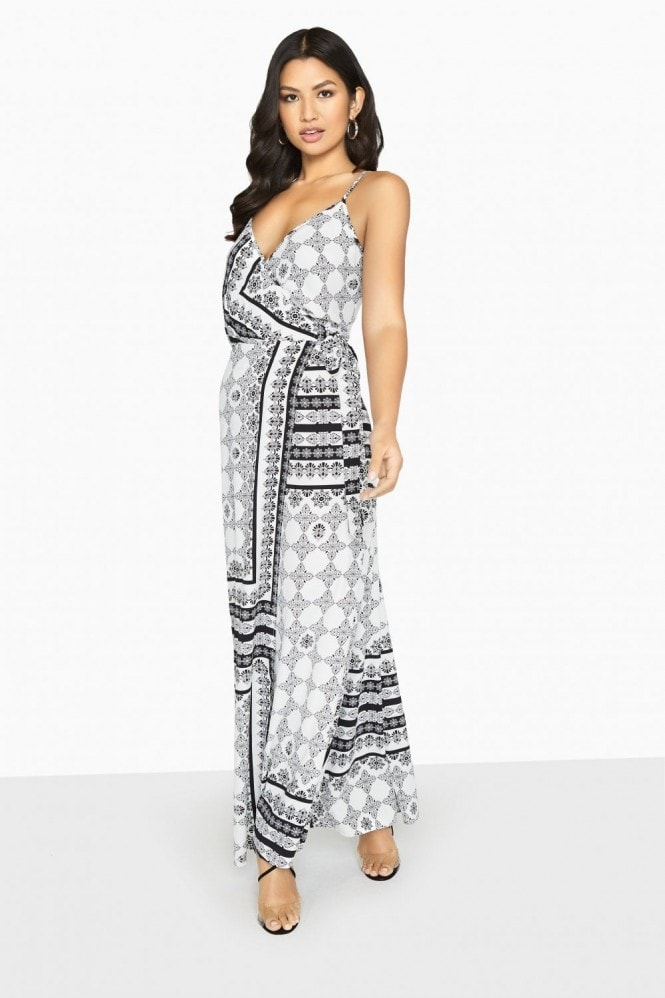 Girls on Film Marcos Cami Maxi Dress In Boho Print